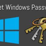فراموش کردن رمز ویندوز – windows password recovery