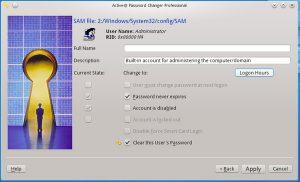 فراموش کردن رمز ویندوز