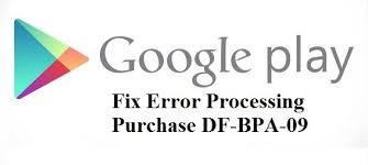 رفع خطایError Processing Purchase DF-BPA-09: