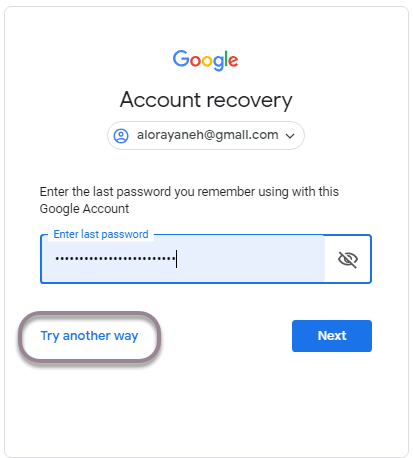 how to recover gmail 2