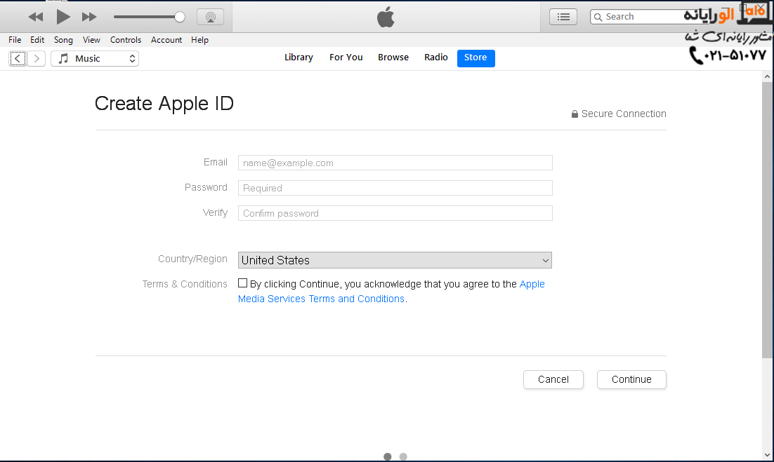 how to create free apple id 3