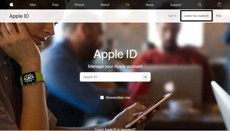 how to create an apple id 7