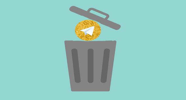 حذف اکانت تلگرام طلایی