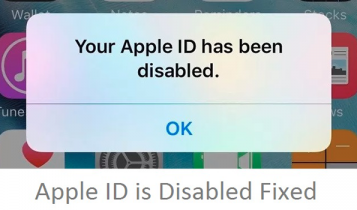 رفع مشکل دیسیبل شدن اپل ایدی your apple id has been disabled