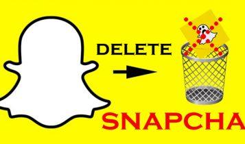 آموزش تصویری حذف اکانت snapchat   دیلیت اکانت اسنپ چت اندروید و ایفون IOS
