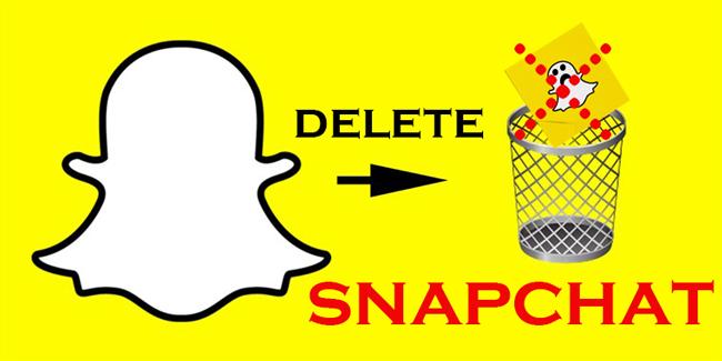 آموزش تصویری حذف اکانت snapchat | دیلیت اکانت اسنپ چت اندروید و ایفون IOS
