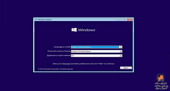 installing windows 10 from the flash
