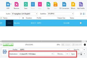 تغییر فرمت فایل ویدیویی با xilisoft video converter