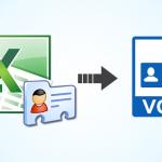 روش ها و یا چگونگی تبدیل فایل اکسل به فایل مخاطبین با پسوند vcf