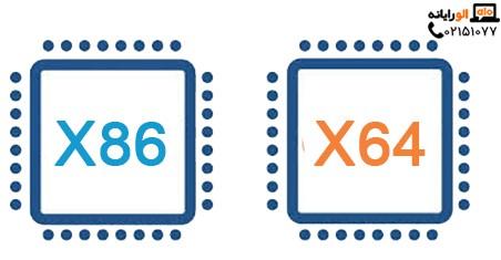 معماری x64 و x86 چیست و تفاوت آن ها