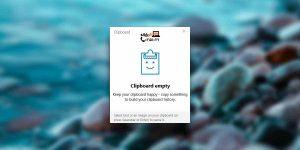 قابلیت کلیپ بورد windows 10