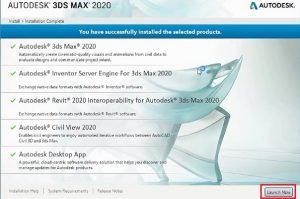 راهنمای نصب تری دی مکس 2020