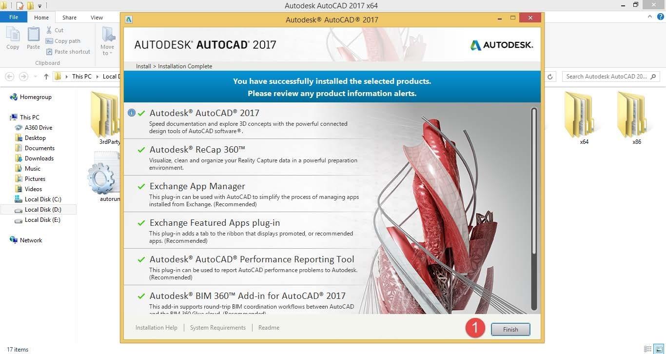 نصب محصولات Autodesk و آموزش نصب و اجرای فونت کاتب