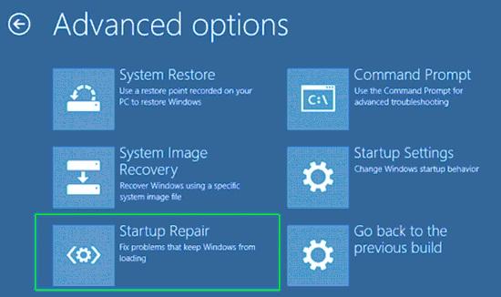Advanced Startup Optionsدر ویندوز ۸ نیز ارائه شده بود اما در ویندوز ۱۰ با ابزار بیشتر و محیط کاربردی تر به کاربران ارائه شد