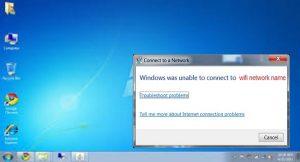 رفع خطای Windows was Unable to Connect to wifi Network
