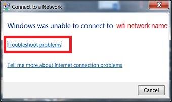 رفع ارور Windows was Unable to Connect to wifi Network