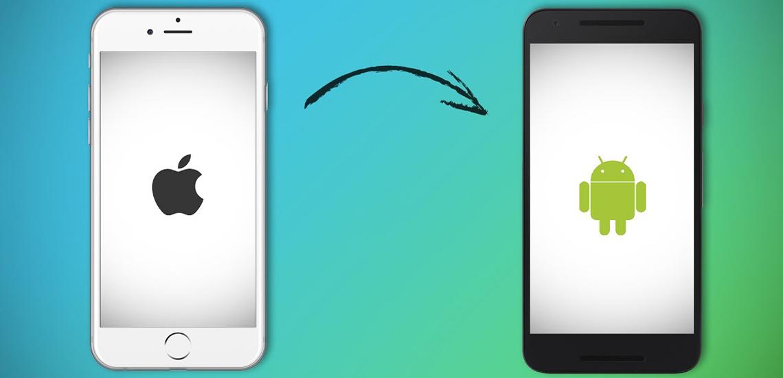 انتقال اطلاعات از iOS به اندروید با ۵ اپلیکیشن کاربردی