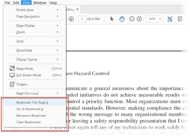 آموزش بوک مارک کردن، کامنت گذاری روی فایل های PDF