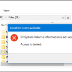 فولدر SYSTEM VOLUME INFORMATION چیست و چه کاری در ویندوز انجام میدهد؟