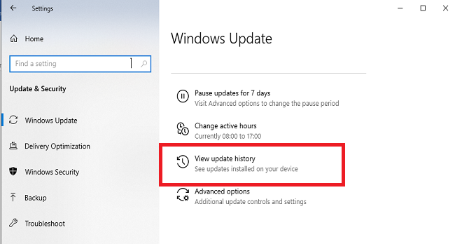 رفع خطای Your Device is Missing Important Security and Quality Fixes در ویندوز 10