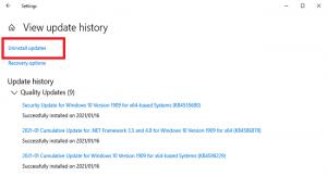 رفع مشکل Your Device is Missing Important Security and Quality Fixes در ویندوز 10