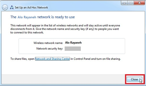 اتصال موبایل به اینترنت کامپیوتر