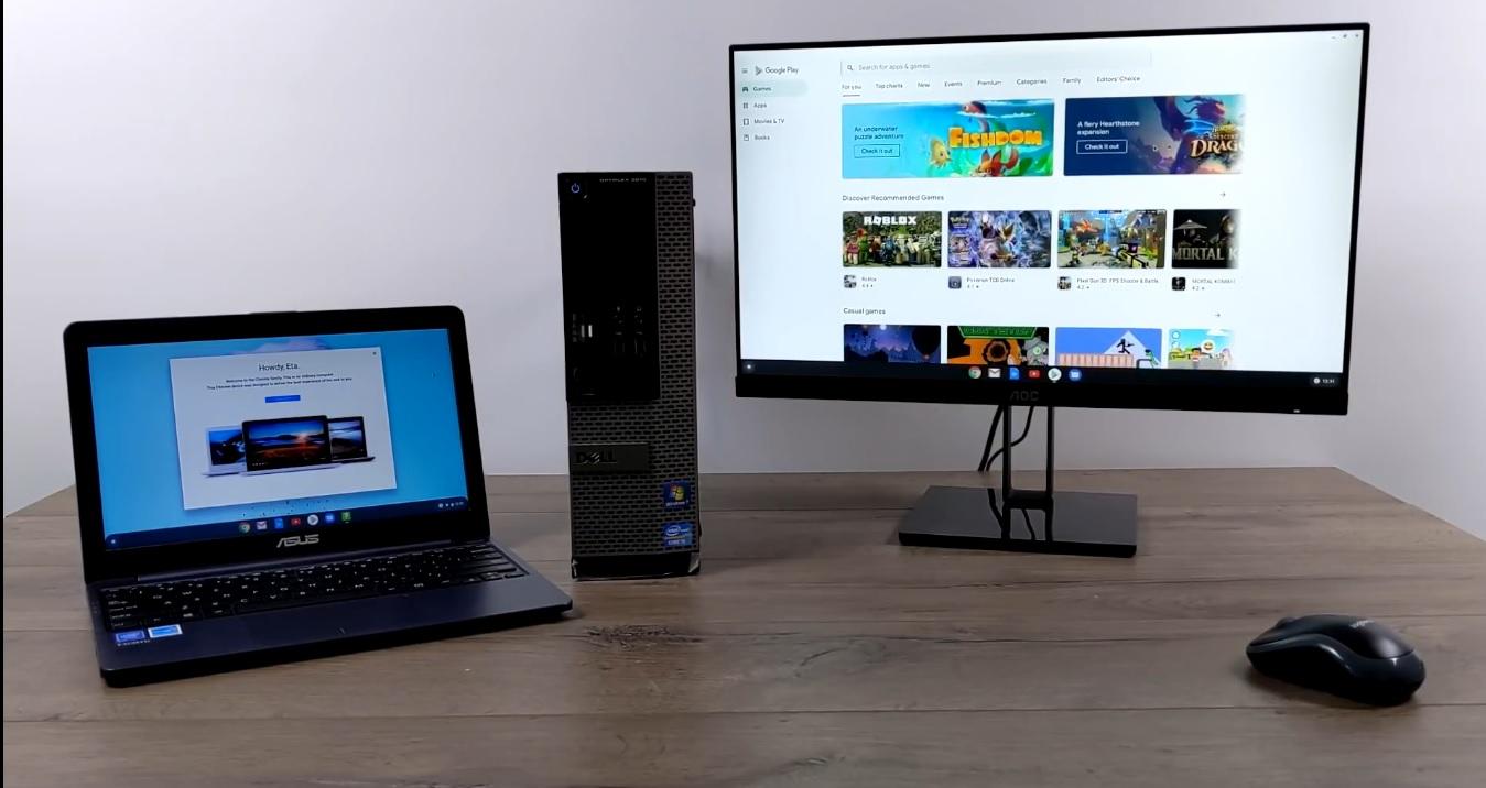 تبدیل لپ تاپ یا کامپیوتر رومیزی به کروم بوک بخش دوم