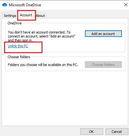 آموزش حذف وان درایو در ویندوز 10