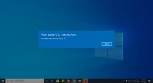 فعال کردن هشدار باتری ضعیف در لپ تاپ