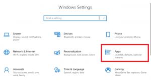 ریست کردن اپلیکیشنهای ویندوز 10