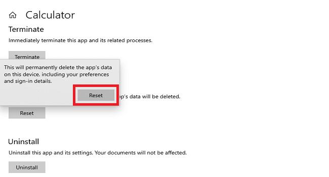 آموزش ریست کردن اپلیکیشنهای ویندوز 10