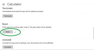 آموزش ریست کردن برنامههای ویندوز 10