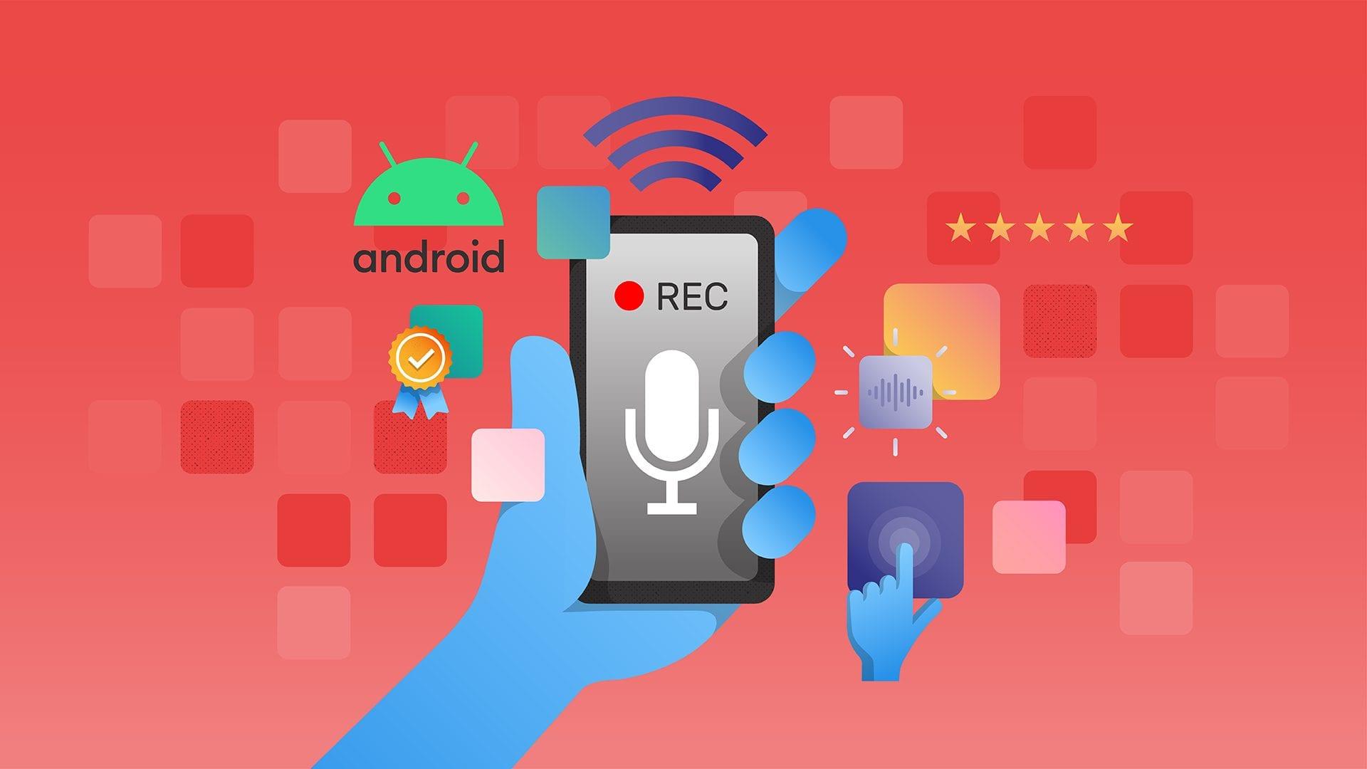 معرفی بهترین برنامه های ضبط صدا  در اندروید