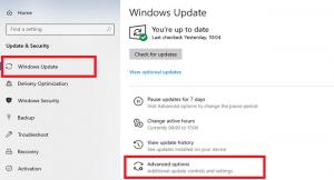 غیرفعال سازی آپدیت برنامههای مایکروسافت در ویندوز 10