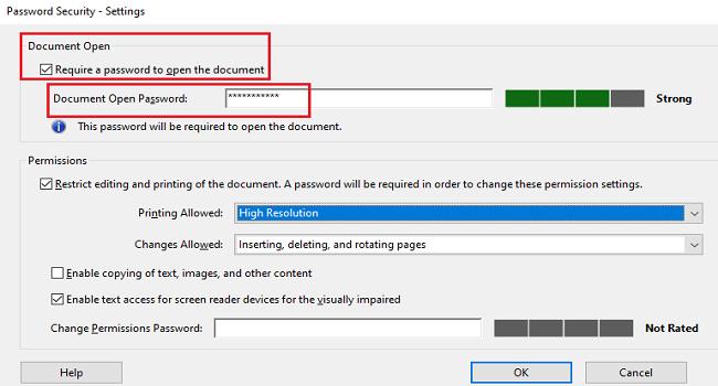 چگونه روی فایلهای PDF رمز بگذاریم؟