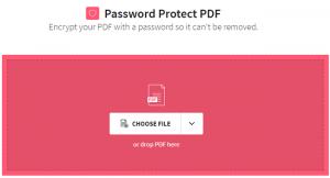 نحوه رمزگذاری فایل پی دی اف