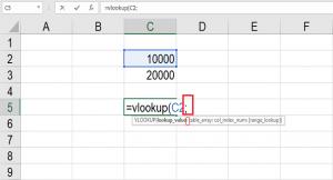 تغییر جدا کننده پارامترها در توابع اکسل